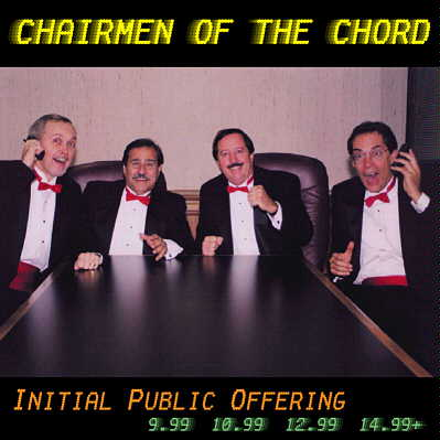 Chairmen of the Chord: IPO (Initial Public Offering) CD